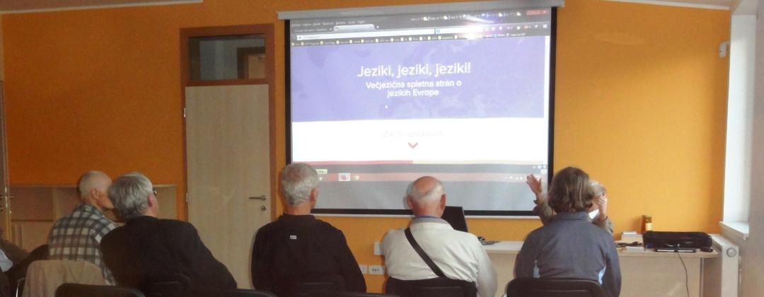 Predstavitev portala Lingvo.info ob Evropskem denvu jezikov, MČ Center, Meljska 37, Maribor 30. september 2014