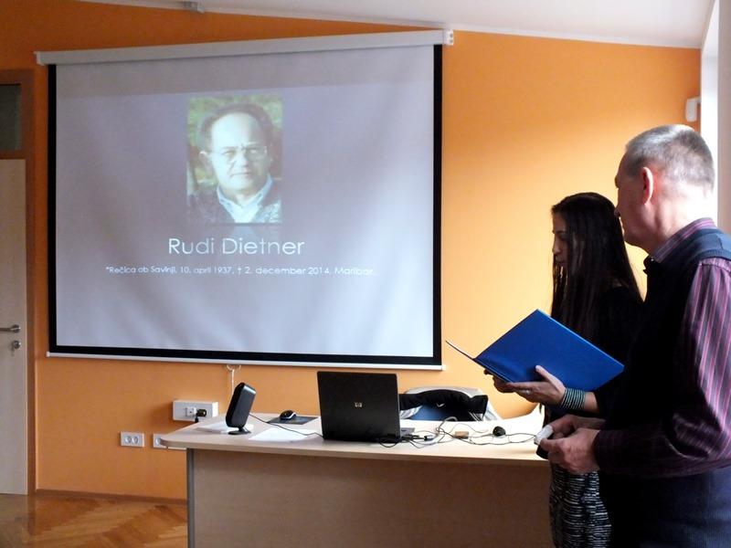 Na začetku smo se spomnili pred kratkim preminulega člana Rudija Dietnerja. (Foto: Zdravko Kokanović)