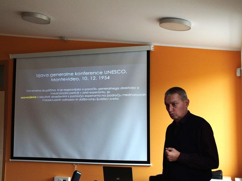 10. decembra je minilo 60 let od sprejetja UNESVCOve resolucije o esperantu (Foto: Zdravko Kokanović)
