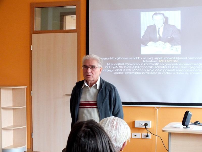 Zlatko Tišljar je orisal Iva Lapenno, ki je bil zaslužen za sprejetje resolucije (Foto: Zdravko Kokanović) osebo