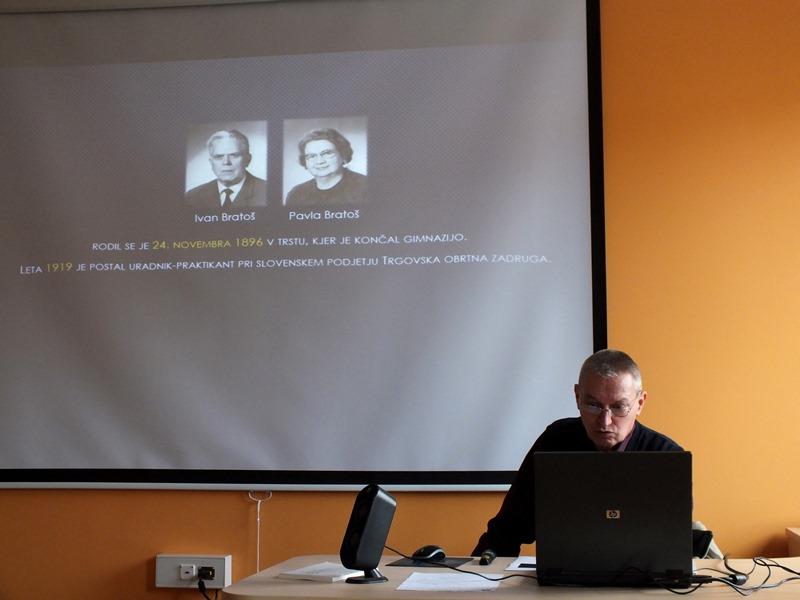 Osrednji del srečanja se je nanašal na življenje in delo Ivana Bratoša (Foto: Zdravko Kokanović)