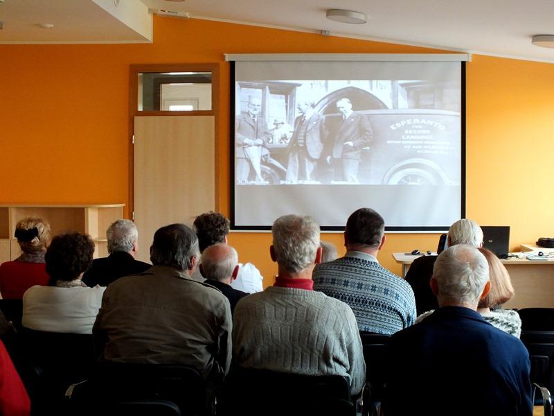 Film je vseboval tudi zgodovinske posnetke iz začetka esperantskega gibanja  (Foto: Zdravko Kokanović)