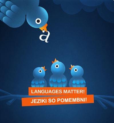 Jeziki so pomembni