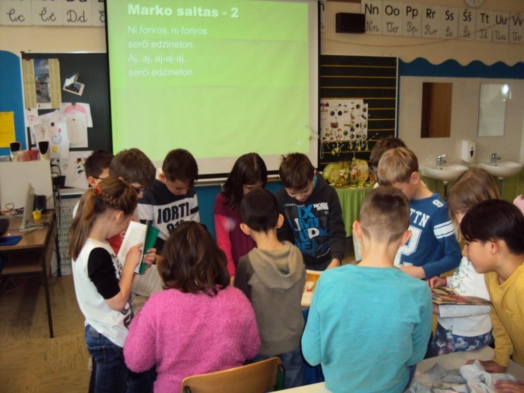 Spontano zanimanje četrtošolcev na OŠ Dravlje (Foto Ostoj Kristan)
