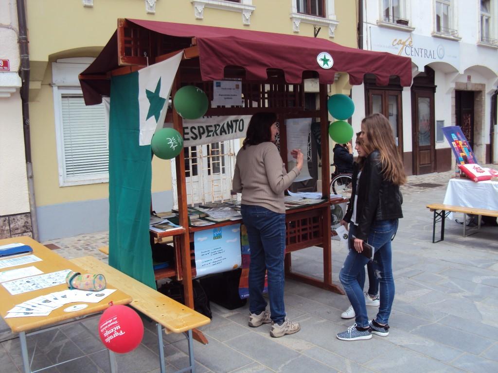 Parada učenja Kranj, Esperantsko društvo Ljubljana, Nika Rožej.