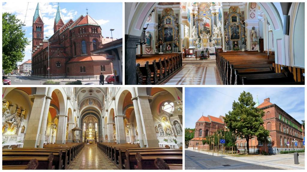 Frančiškanska cerkev v Mariboru | La Franciskana preĝejo en Maribor