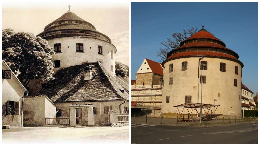 Sodni stolp nekoč in danes | Juĝturo antaŭe kaj hodiaŭ