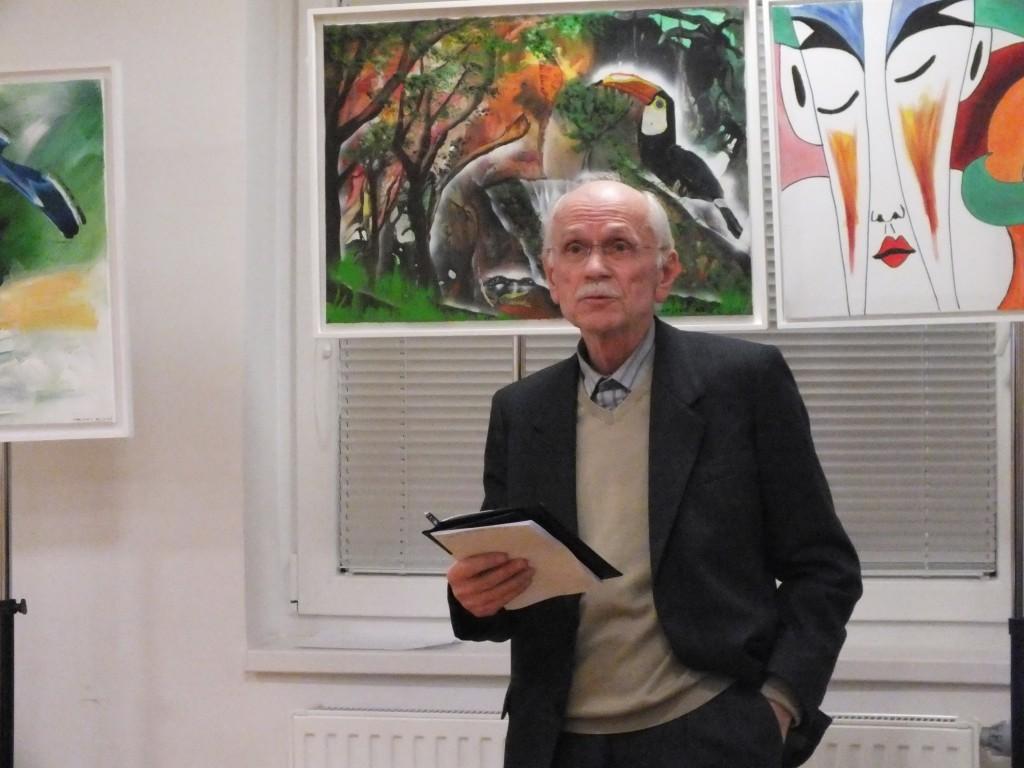 Prisotne je pozdravil tudi predsednik Železničarskega esperantskega društva Karlo Kovač (Foto: Zdravko Kokanović)