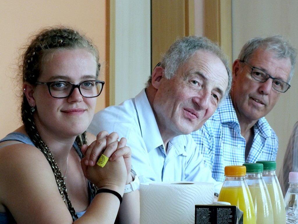 Gostje iz Graza: Norina, karl in Ewald (foto: Zdravko Kokanović)