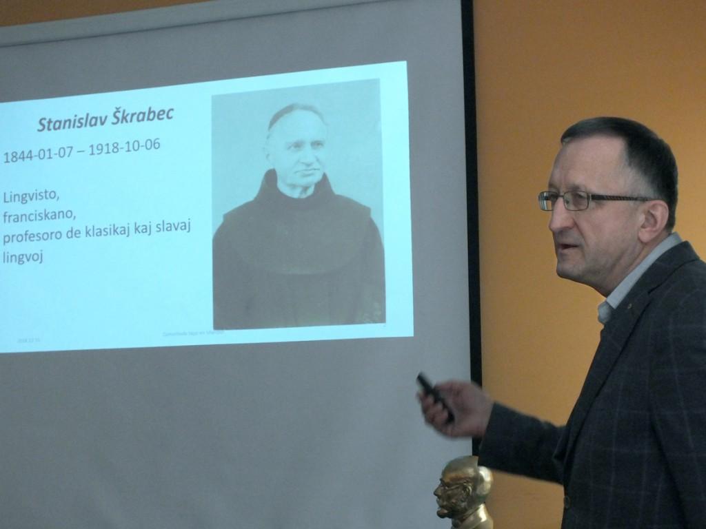 mag. Janez Jug o Stanislavu Škrabcu (foto: Zdravko Kokanović)