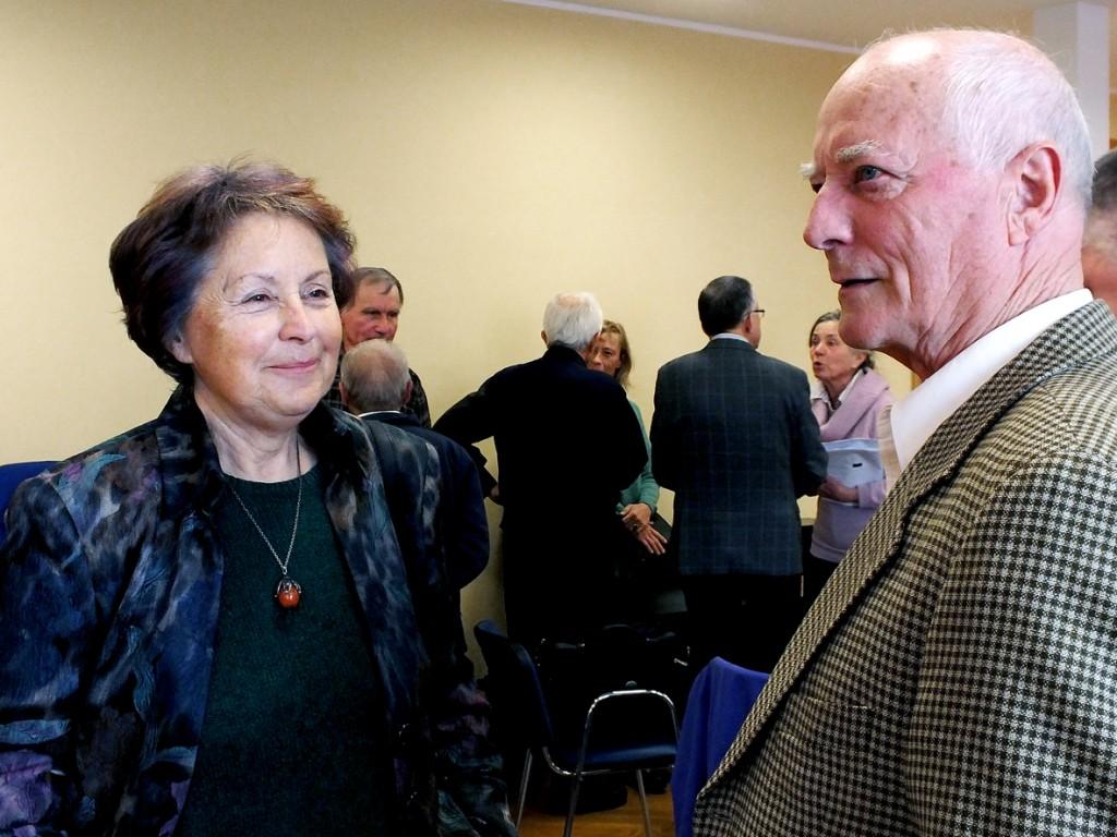 Melita Cimerman in Janez Zadravec (foto Zdravko Kokanović)