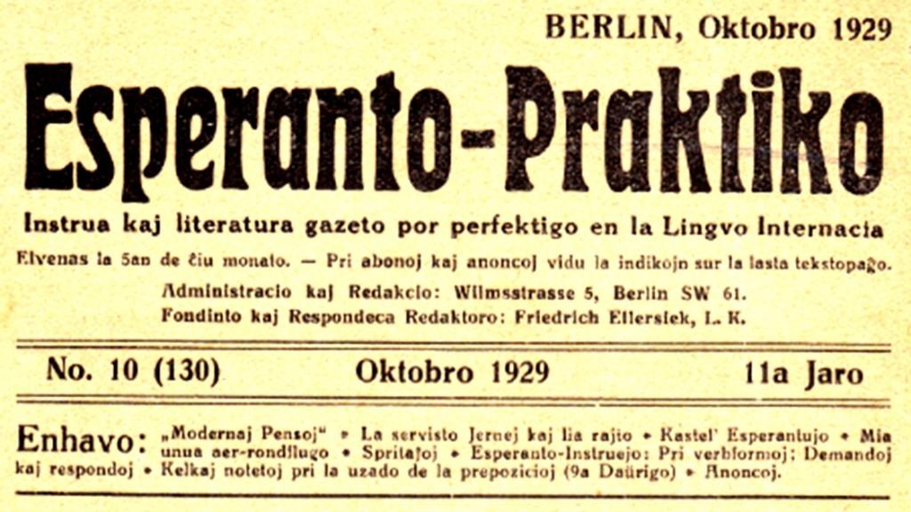 časopis Esperanto-Praktiko