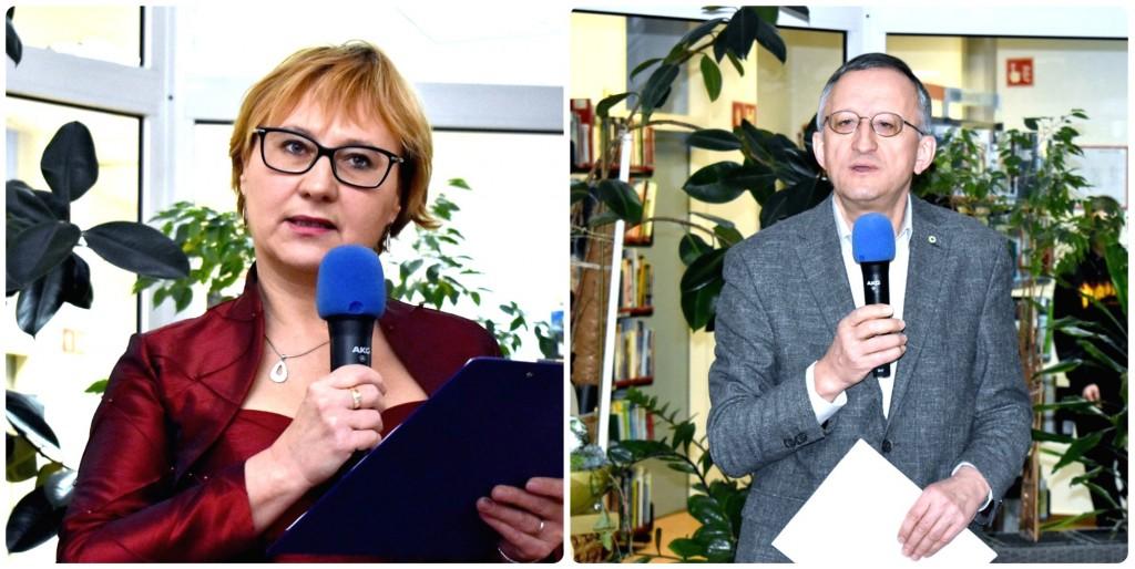 Proslavo je vodila Ivica Hace. Prvi je prisotne pozdravil mag. Janez Jug, predsednik ZES.